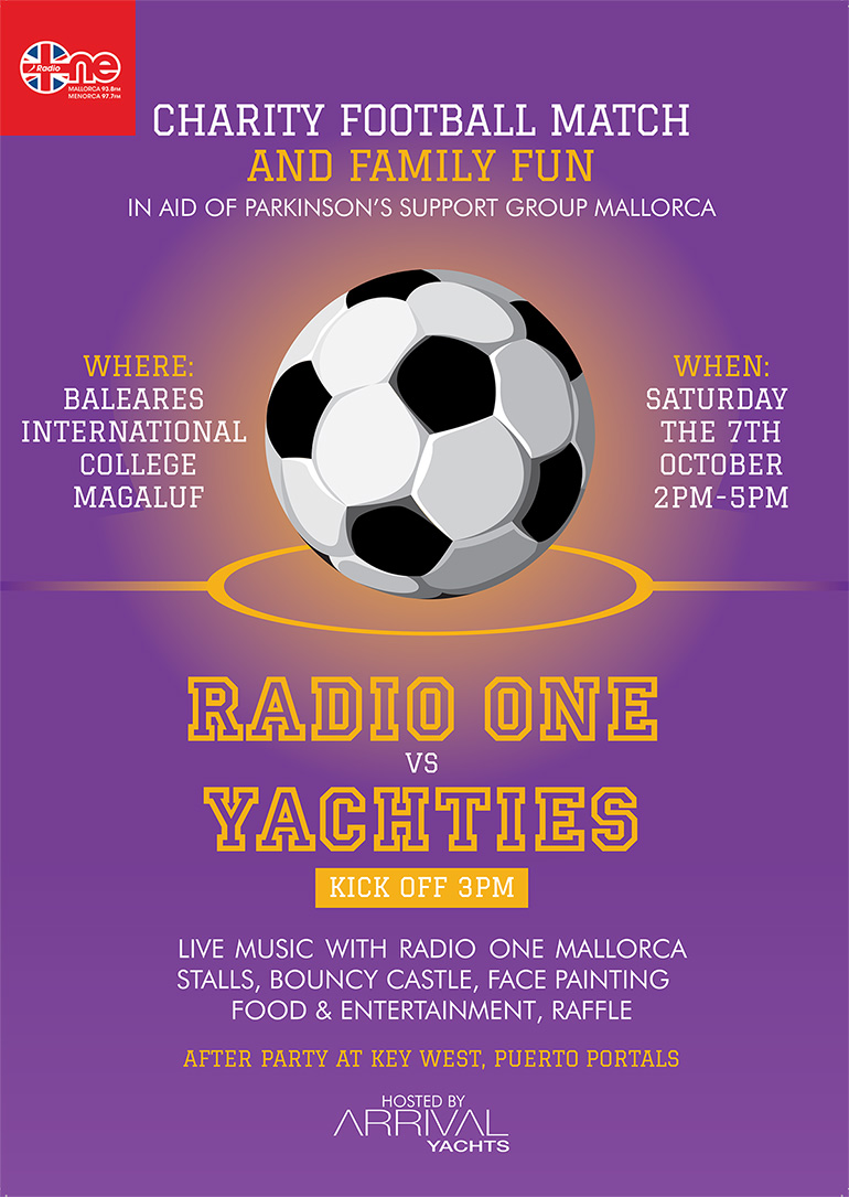Flyer Radio 1 vs Yachties Charity Football