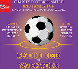 Charity Yachties vs Radio One